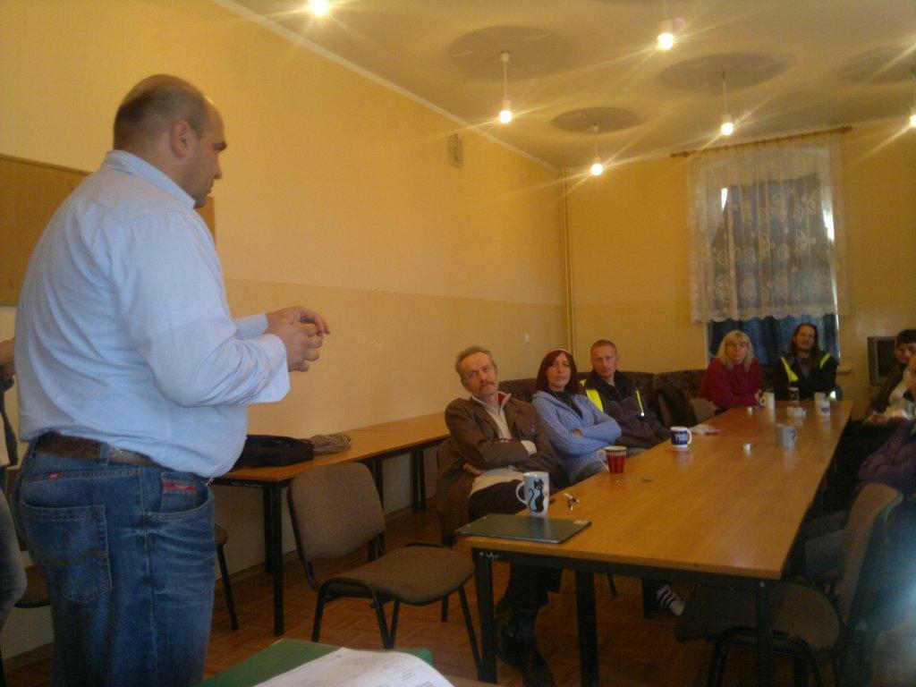 Spotkanie informacyjne w Międzychodzie w Klubie Integracji Społecznej